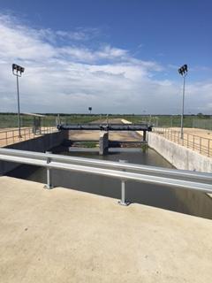 Standpipe water storage tank